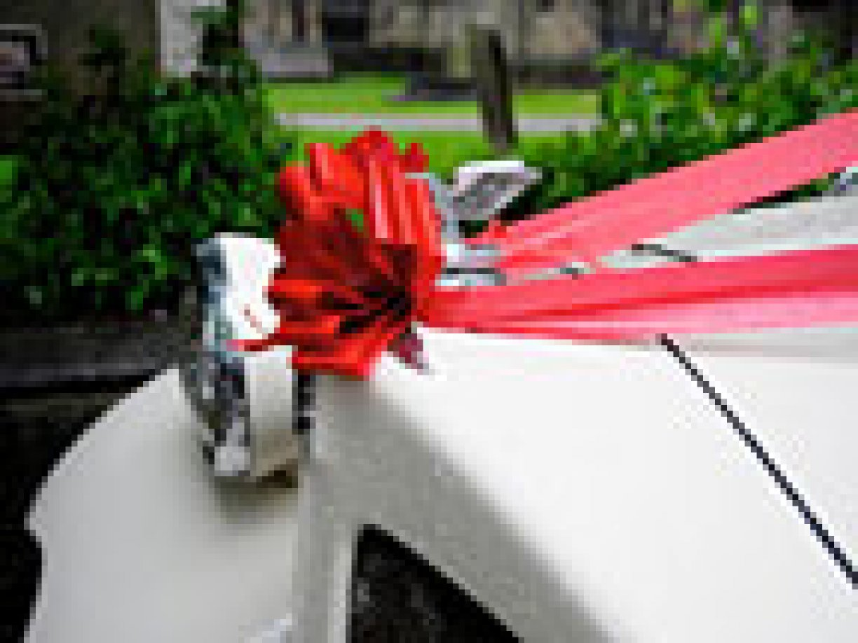 Complete Car Ribbon set in various colours