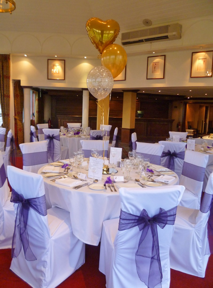 We deliver and collect your chair covers & they are then fitted by yourself or your friends & family!