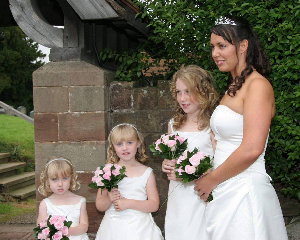 Hair & Make-up on Wedding Day for Bride & 3 x Bridesmaids or Mums